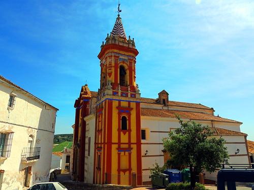 <Iglesia San Sebastián> Cañete la Real (Málaga)