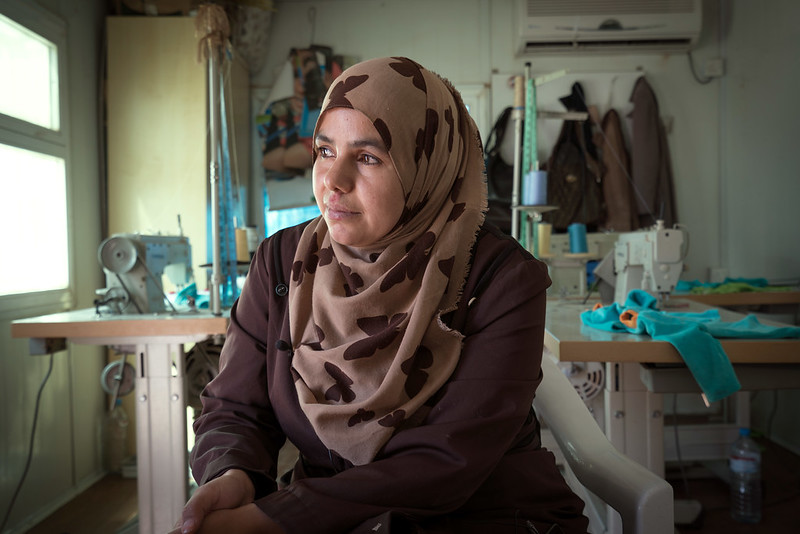 Jordan - UN Women Humanitarian Work with Refugees and Income Programmes