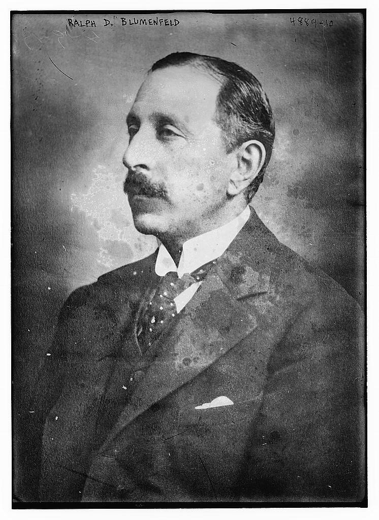 Ralph D. Blumenfeld (LOC)