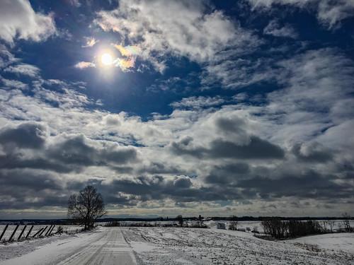 Wisconsin Winter Sun