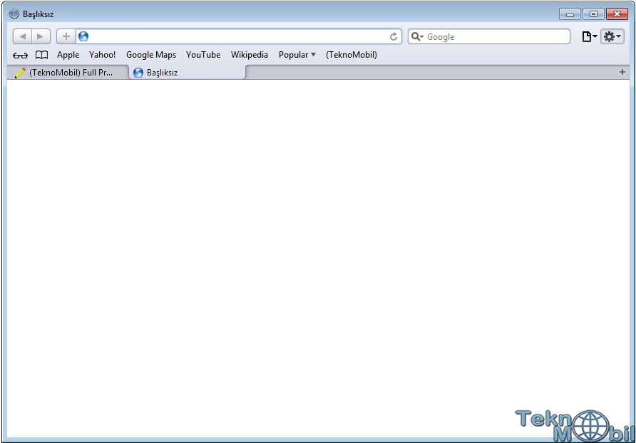 Safari v5.1.7 Türkçe