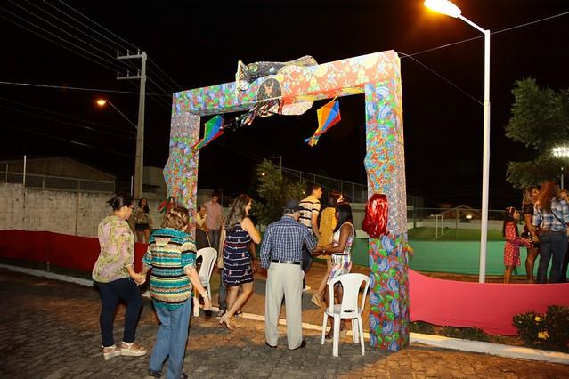 Danças folclóricas, show musical e comidas tipicas fazem o sucesso do AMMARRIÊ