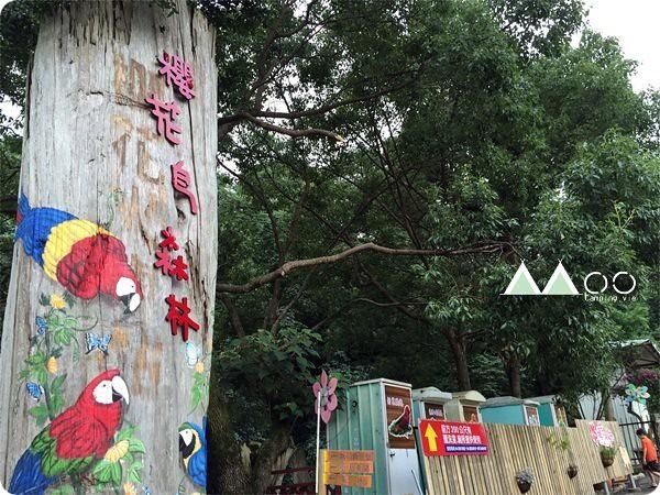 櫻花鳥森林