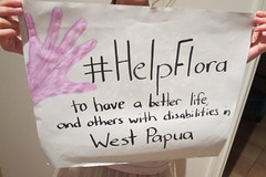 Jane's Epic Cycle Ride to support Flora and others with Disabilities in West Papua - www.gofundme.com/HelpFlora