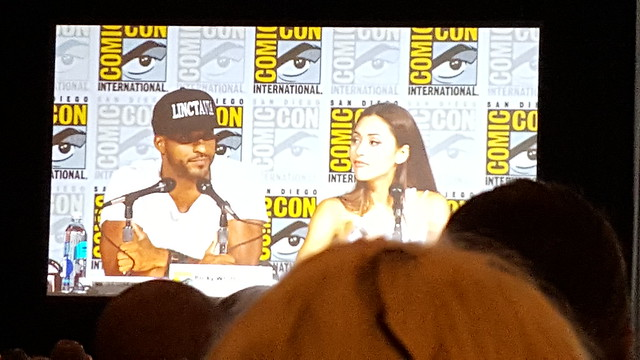 Ricky Whittle, Lindsey Morgan