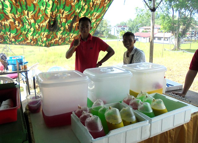 Ramadhan drinks stall
