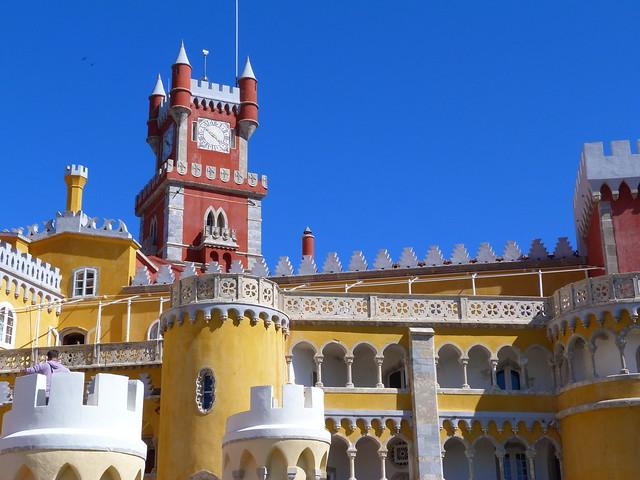 Palacio da Pena en Sintra (Portugal)
