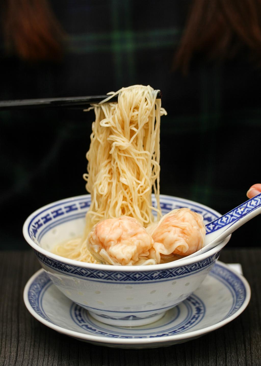 Mak's Noodle: Wanton Noodle Soup