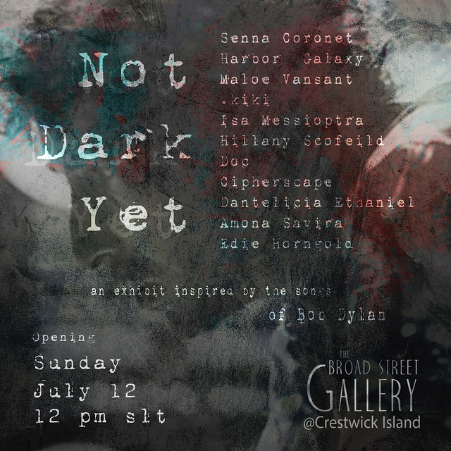 """Not Dark Yet"" Exhibit @ Crestwick Island"