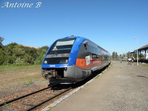 X73810 - TER Poitou-Charentes - Rochefort > La Rochelle Pte Dauphine - Gare de Rochefort (17)