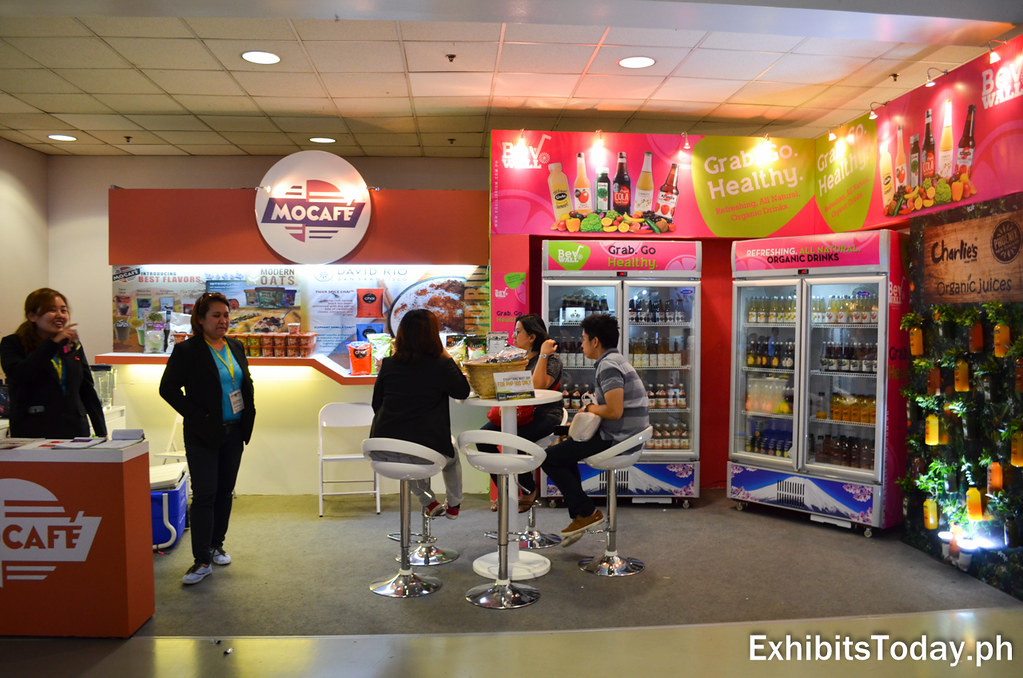 Mocafe Exhibit Booth