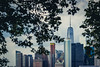 Peaking NYC Skyline by pablo.E.photo