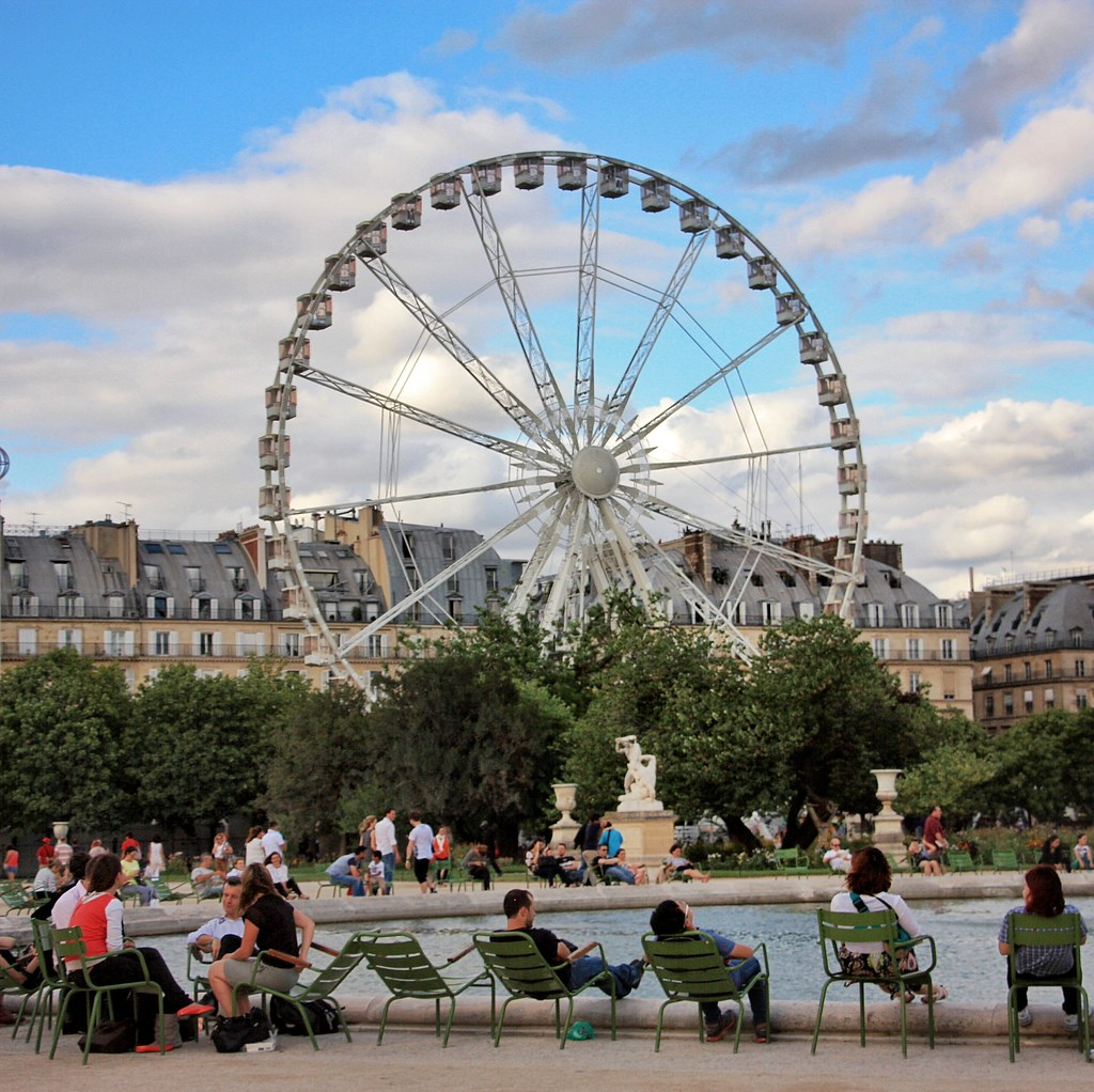 Grande Roue - Ferris Wheel, Paris