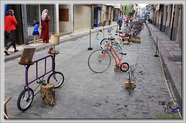 9 Exposición de bicicletas antiguas