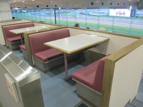 中山競馬場のファミリーボックス席