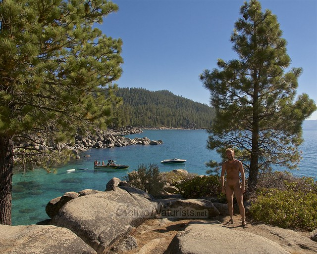 naturist 0001 Secret Cove, Lake Tahoe, Nevada, USA