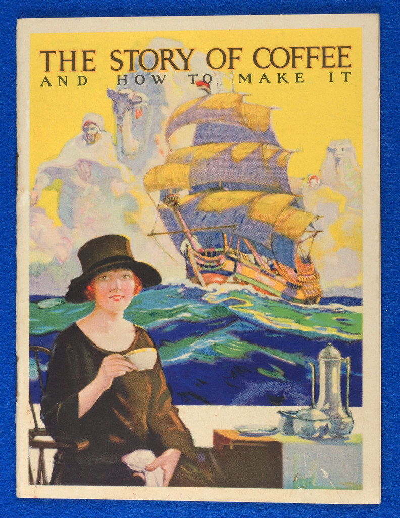 RD12151 1925 Advertising Booklet for Maxwell House Coffee Titled The Story of Coffee DSC08588