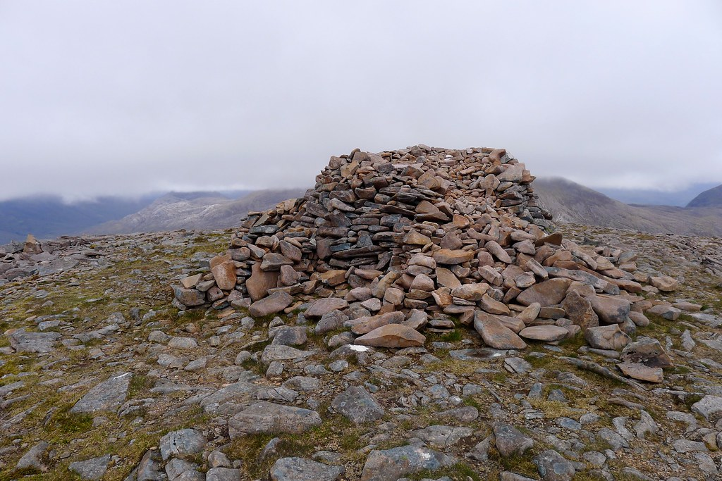 Summit cairn of Maol Chean-dearg