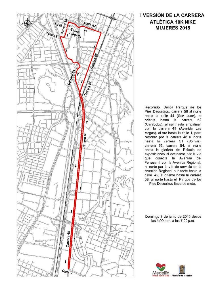 manual Alta exposición Desarrollar  Carrera atlética 10K NIKE mujeres   Secretaría de Movilidad de ...