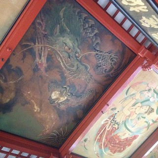 Asasuka temple artwork