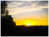 Sunset, last night.