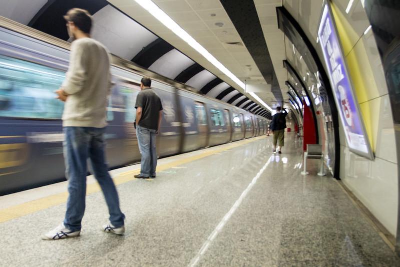 Marmaray - Underground station in Istanbul