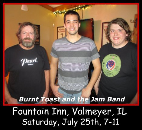 Burnt Toast and the Jam Band 7-25-15