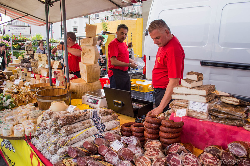 Market Lucerne Switzerland