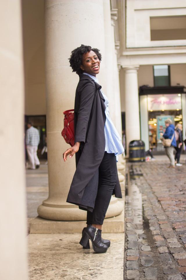 long black duster coat