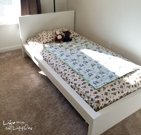 Tips For Switching To A Toddler Bed Life With My Littles