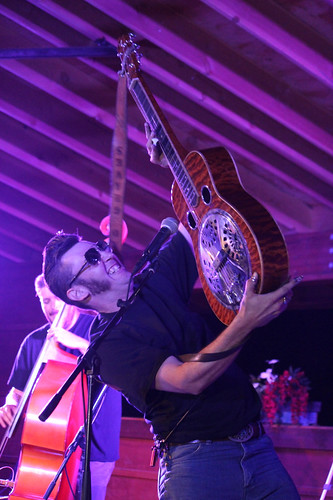 The HillBenders Chad Graves dobro high