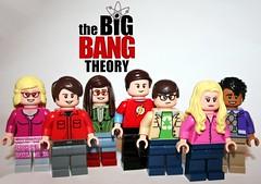 Lego Big Bang Theory Poster