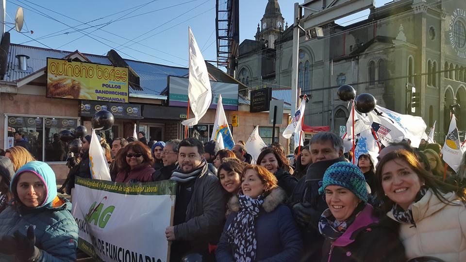 AFSAG Magallanes en marcha de la MSP por Proyecto de Zonas Extremas (ZE) - 5 Agosto 2015