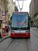 Modern Low-Floor Tram in Prague by mobilix