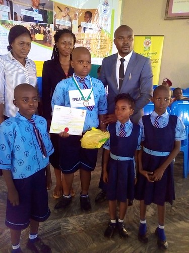 Congratulations to the two pupils from St Louis Nursery and Primary School, Ondo, who recently represented the school in a spelling competition known as the Thrill and Spell, and qualified for the Zonal competition