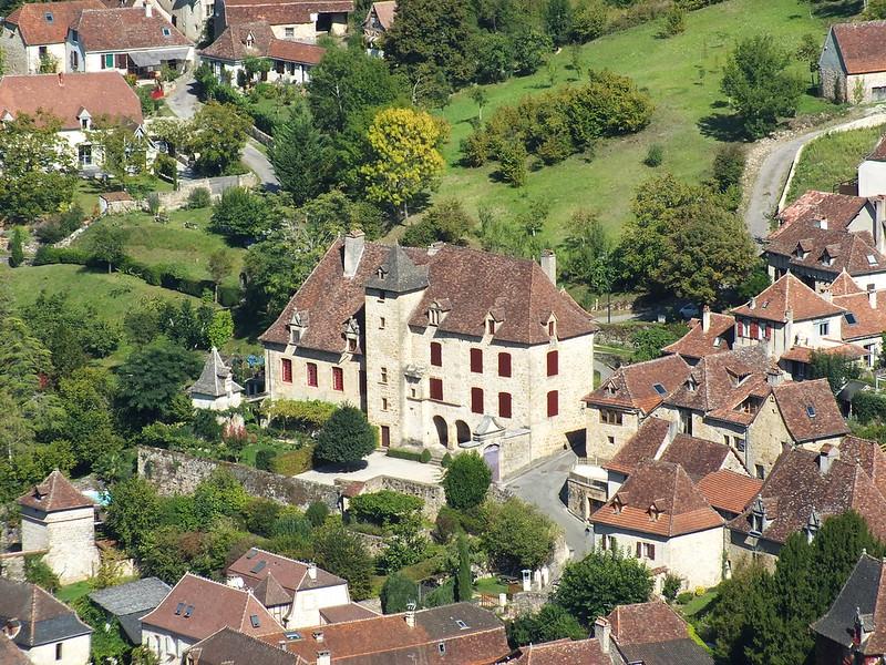 Autoire - Manoir dit Château de Busqueilles