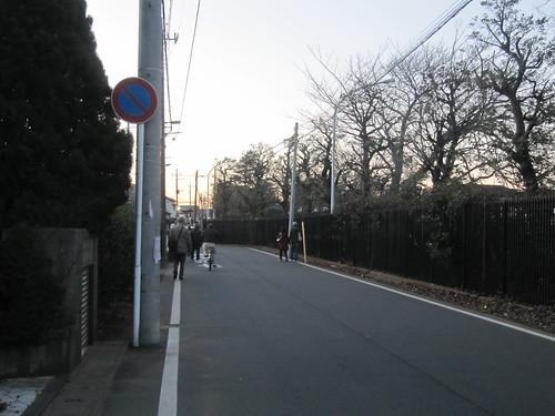 下総中山へのオケラ街道