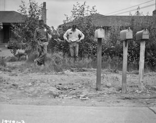 Hole on Sand Point Way, 1958