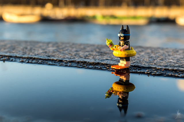 Batman on holidays