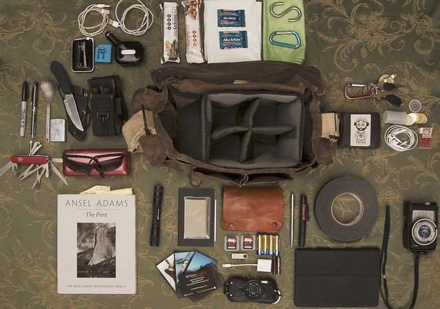 What's in my Bag - Daily Gear