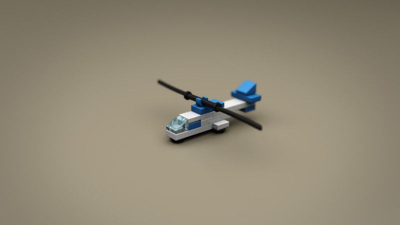 LEGO Jurassic Park Microscale | Lego Ideas - Helicopter