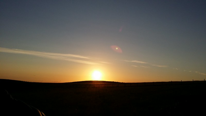 Radnor Forest sunset #sh
