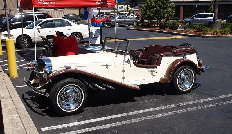 Restored Car in Orting