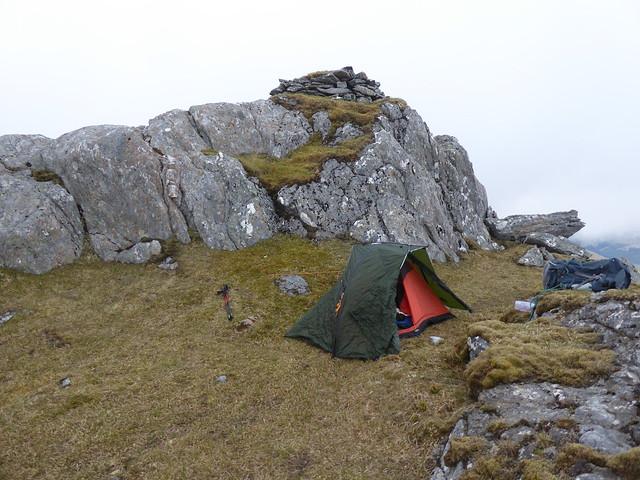 Summit camp - Druim Fiaclach