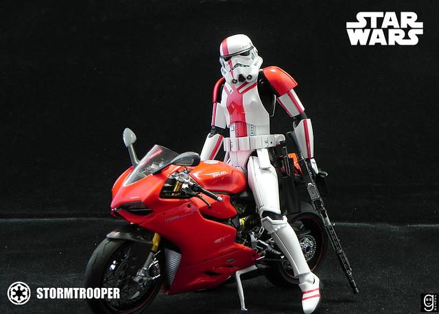 【玩具人goahead投稿】Bandai 1/12 星戰 Stormtrooper 模型改造分享