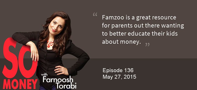 FamZoo Featured on So Money with Farnoosh Torabi