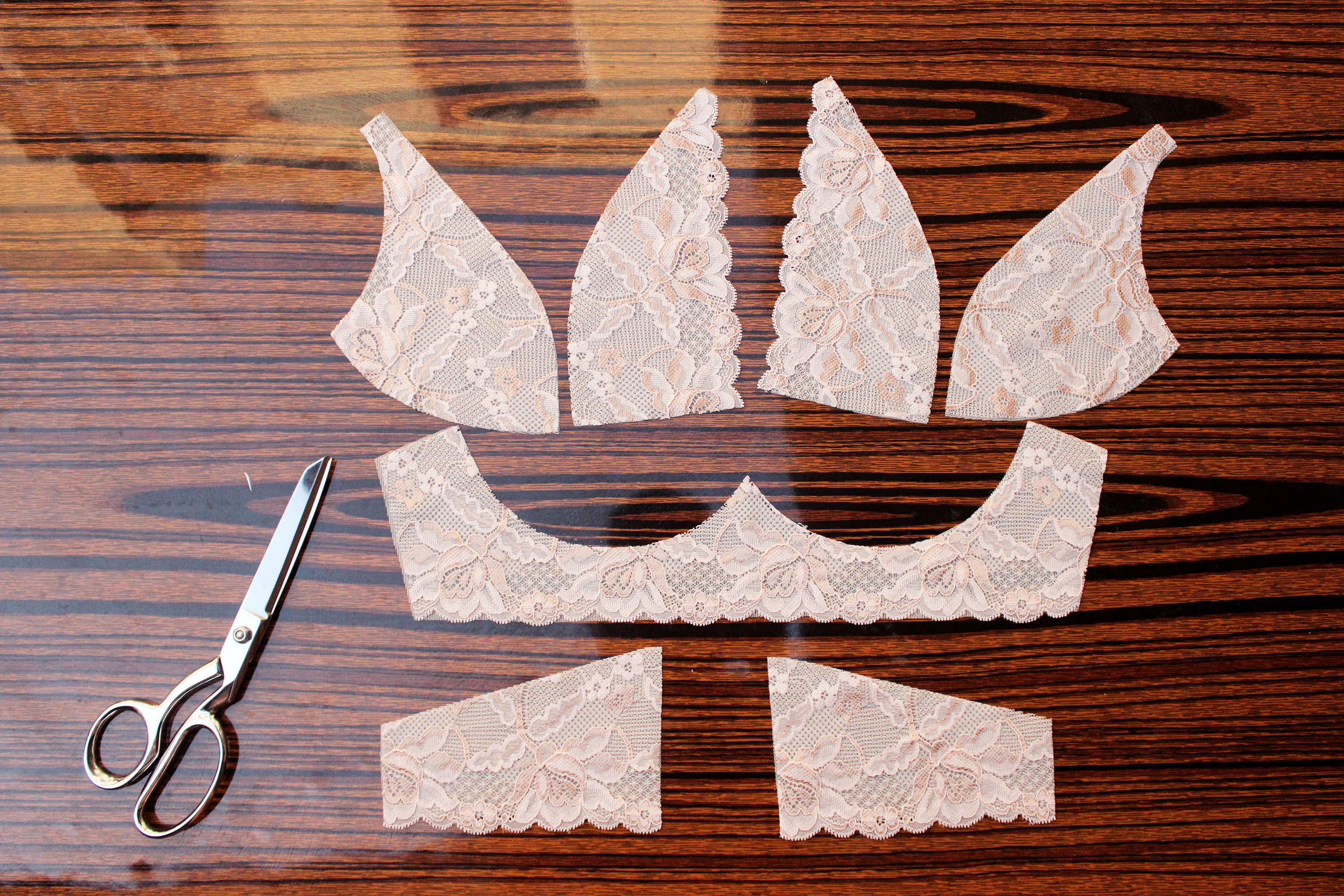 Bra Making Pattern Cutting
