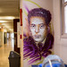 Tribute to Jacques Monod by Christian Guémy (aka C215) at CEA Saclay by mat2057