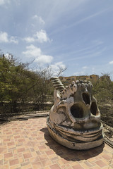 Abandoned Aruba water park