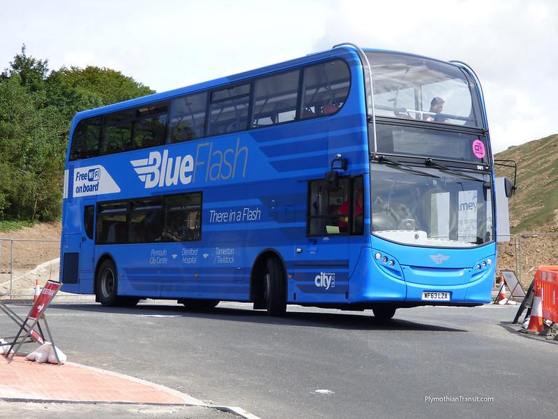 Plymouth Citybus 501 WF63LZA